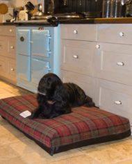 Berkeley Tartan Fabric Luxury Dog Bed Covers-4
