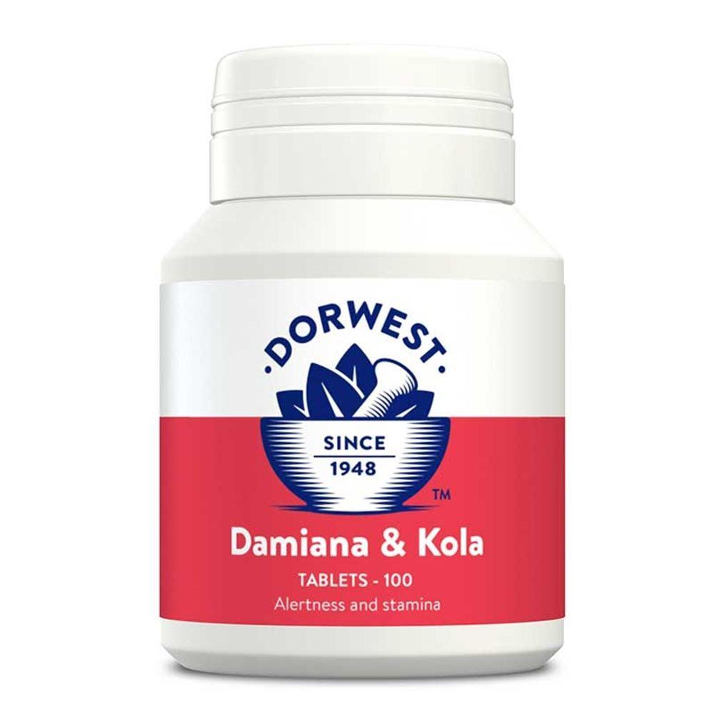 Dorwest Damiana Kola Tablets