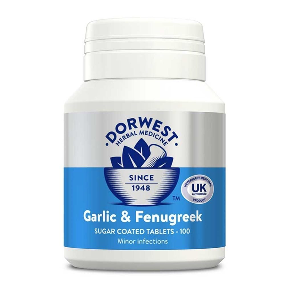 Dorwest Garlic and Fenugreek tablets