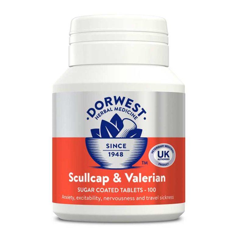 Dorwest Scullcap Valerian Tablets