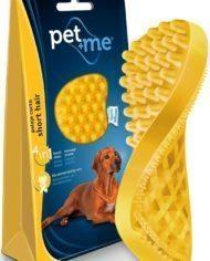 Pet+Me-Grooming-Brush-for-Short-Hair-Dogs