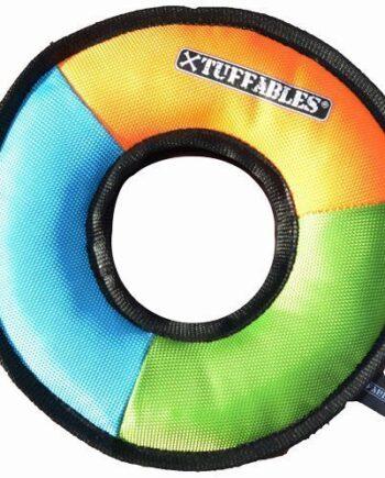 Tuffables Tuffa-Ring dog toy