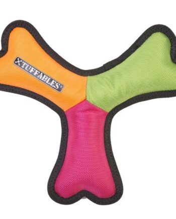 Tuffables Tuffa-Tri dog toy