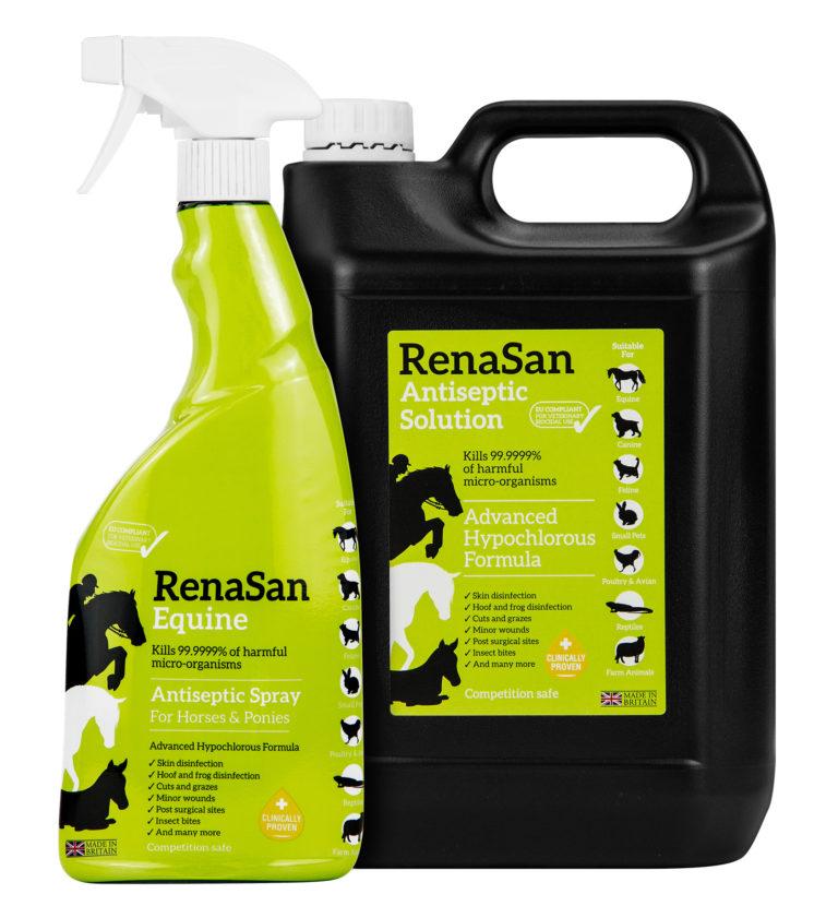 RenaSan Equine Antiseptic Solution